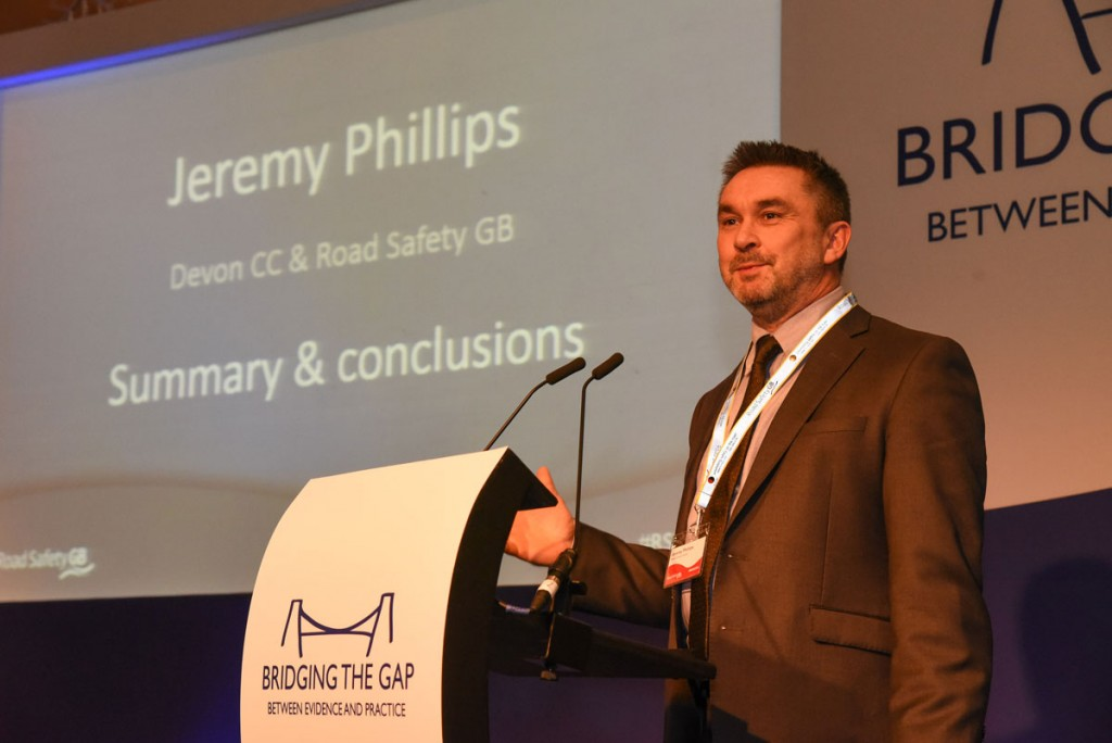 Jeremy Phillips Director of Research, Road Safety GB & Road Casualty Reduction Team Manager, Devon County Council