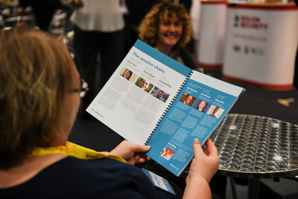 The conference handbook